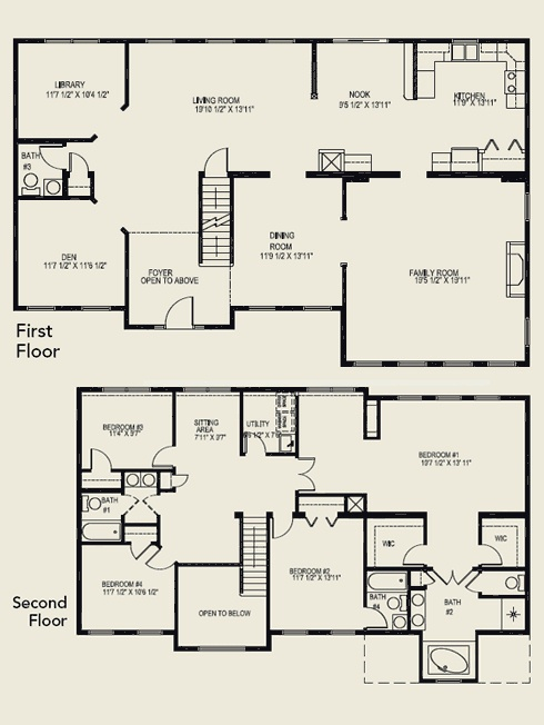 two story house plans - 2 Story House Plans