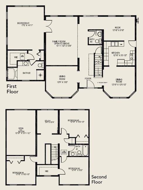 Two story house plans for House floor plans 3 bedroom 2 bath
